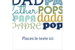 Papas du monde Étiquettes enveloppantes - gabarit prédéfini. <br/>Utilisez notre logiciel Avery Design & Print Online pour personnaliser facilement la conception.