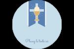 Première communion Étiquettes de classement - gabarit prédéfini. <br/>Utilisez notre logiciel Avery Design & Print Online pour personnaliser facilement la conception.