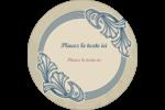 Bouquet français Étiquettes de classement - gabarit prédéfini. <br/>Utilisez notre logiciel Avery Design & Print Online pour personnaliser facilement la conception.