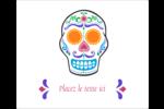 Le jour du Crâne Étiquettes d'expédition - gabarit prédéfini. <br/>Utilisez notre logiciel Avery Design & Print Online pour personnaliser facilement la conception.