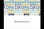 Papas du monde Étiquettes rondes gaufrées - gabarit prédéfini. <br/>Utilisez notre logiciel Avery Design & Print Online pour personnaliser facilement la conception.