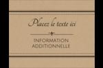 Grand chic Étiquettes rondes gaufrées - gabarit prédéfini. <br/>Utilisez notre logiciel Avery Design & Print Online pour personnaliser facilement la conception.