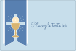 Première communion Étiquettes rectangulaires - gabarit prédéfini. <br/>Utilisez notre logiciel Avery Design & Print Online pour personnaliser facilement la conception.