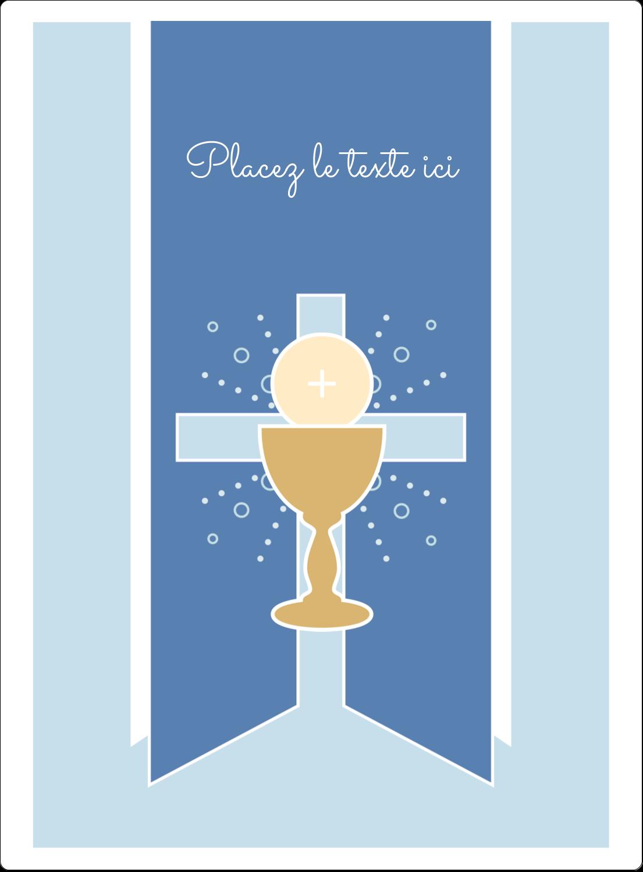 """2½"""" Diameter Étiquettes rondes - Première communion"""