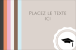 Mortier de diplômé Étiquettes rectangulaires - gabarit prédéfini. <br/>Utilisez notre logiciel Avery Design & Print Online pour personnaliser facilement la conception.