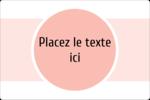 Traitement Sphère rose Étiquettes rectangulaires - gabarit prédéfini. <br/>Utilisez notre logiciel Avery Design & Print Online pour personnaliser facilement la conception.