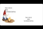 Gnome en camping Étiquettes de classement écologiques - gabarit prédéfini. <br/>Utilisez notre logiciel Avery Design & Print Online pour personnaliser facilement la conception.