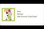 Fruits frais Étiquettes de classement écologiques - gabarit prédéfini. <br/>Utilisez notre logiciel Avery Design & Print Online pour personnaliser facilement la conception.