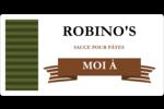 Sauce italienne à la viande pour pâtes Étiquettes de classement écologiques - gabarit prédéfini. <br/>Utilisez notre logiciel Avery Design & Print Online pour personnaliser facilement la conception.