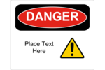 Add an important warning message to your project with pre-designed Danger templates.