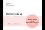 Traitement Sphère rose Carte Postale - gabarit prédéfini. <br/>Utilisez notre logiciel Avery Design & Print Online pour personnaliser facilement la conception.