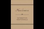 Grand chic Carte Postale - gabarit prédéfini. <br/>Utilisez notre logiciel Avery Design & Print Online pour personnaliser facilement la conception.