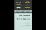 Moustache de papa Carte d'affaire - gabarit prédéfini. <br/>Utilisez notre logiciel Avery Design & Print Online pour personnaliser facilement la conception.