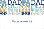 Papas du monde Étiquettes rectangulaires - gabarit prédéfini. <br/>Utilisez notre logiciel Avery Design & Print Online pour personnaliser facilement la conception.