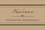 Grand chic Étiquettes rectangulaires - gabarit prédéfini. <br/>Utilisez notre logiciel Avery Design & Print Online pour personnaliser facilement la conception.