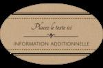 Grand chic Étiquettes carrées - gabarit prédéfini. <br/>Utilisez notre logiciel Avery Design & Print Online pour personnaliser facilement la conception.