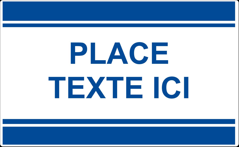 """8⅛"""" x 5"""" Étiquettes d'expéditions - Barres colourées"""