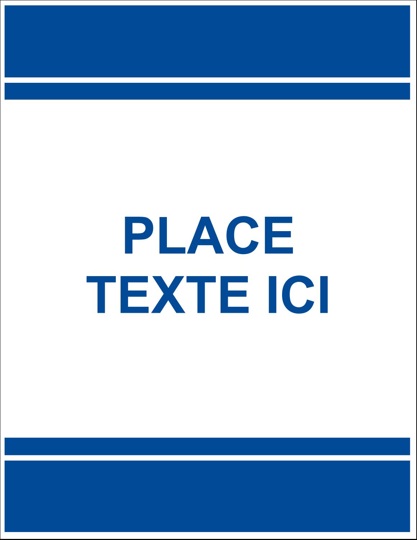 """8½"""" x 11"""" Étiquettes D'Identification - Barres colourées"""
