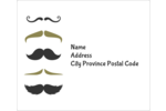 Wish Dad a FAN-STACHE-TIC day! Don't stubble over your words with these moustaches!