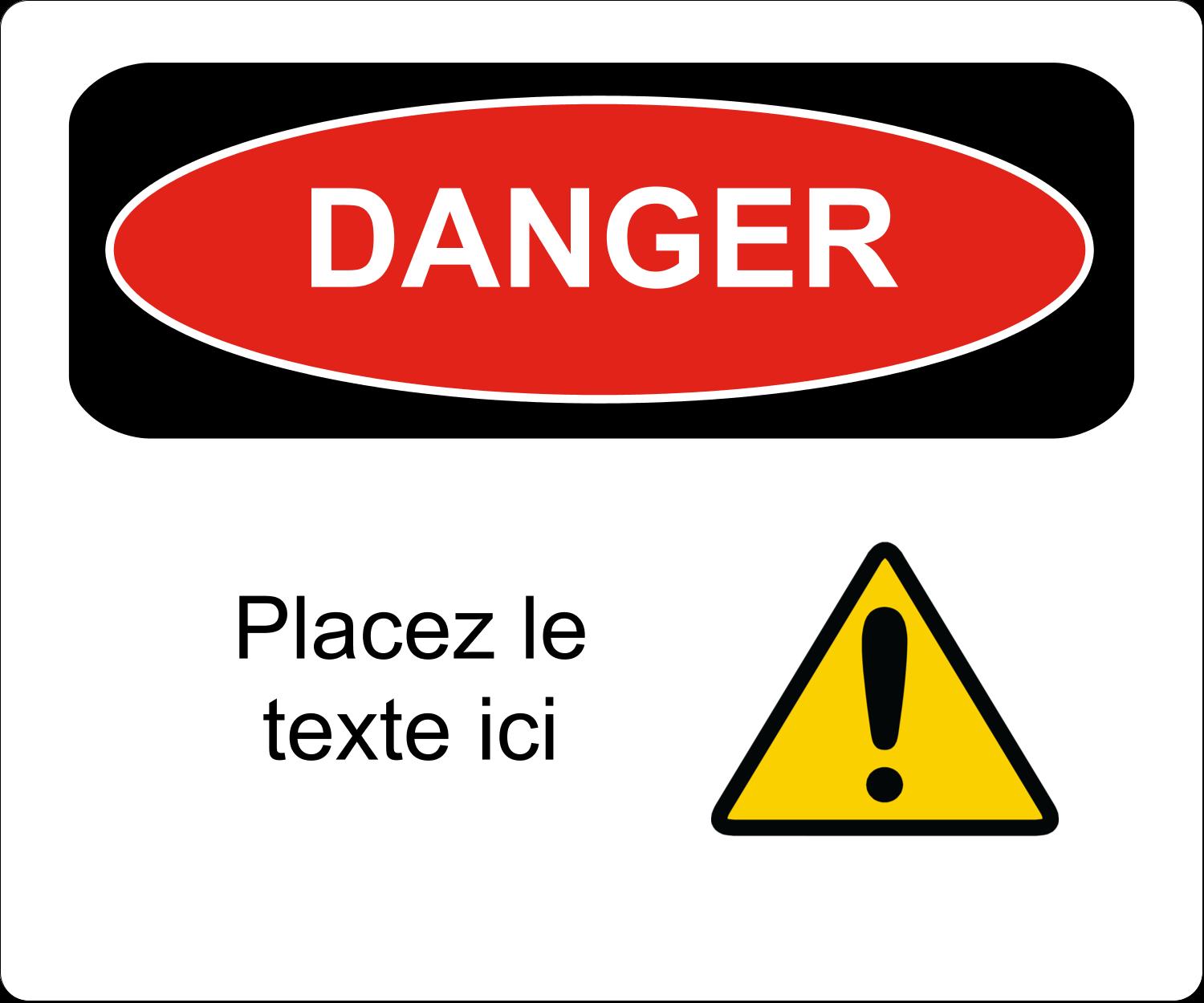 Danger Étiquettes D'Adresse - gabarit prédéfini. <br/>Utilisez notre logiciel Avery Design & Print Online pour personnaliser facilement la conception.