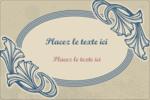 Bouquet français Étiquettes rectangulaires - gabarit prédéfini. <br/>Utilisez notre logiciel Avery Design & Print Online pour personnaliser facilement la conception.