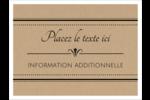 Grand chic Badges - gabarit prédéfini. <br/>Utilisez notre logiciel Avery Design & Print Online pour personnaliser facilement la conception.