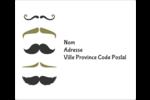 Moustache de papa Étiquettes d'expédition - gabarit prédéfini. <br/>Utilisez notre logiciel Avery Design & Print Online pour personnaliser facilement la conception.