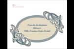 Bouquet français Étiquettes d'expédition - gabarit prédéfini. <br/>Utilisez notre logiciel Avery Design & Print Online pour personnaliser facilement la conception.