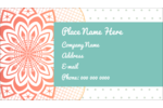 Customize professional and personal projects with pre-designed Geometric Doily templates.