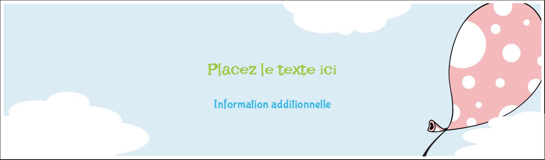 "3½"" x 11"" Affichette - Fantaisie et diplôme"