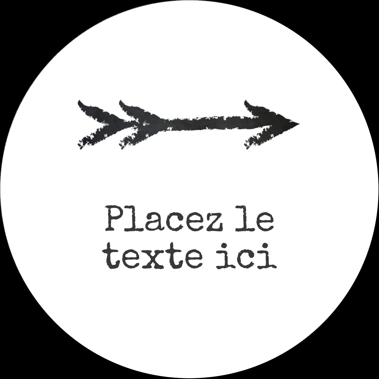 """4¾"""" x 3½"""" Étiquettes arrondies - Diplôme et craie"""