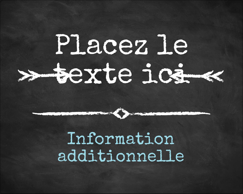 """2"""" Diameter Étiquettes rondes gaufrées - Diplôme et craie"""
