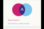 Styliste Carte Postale - gabarit prédéfini. <br/>Utilisez notre logiciel Avery Design & Print Online pour personnaliser facilement la conception.