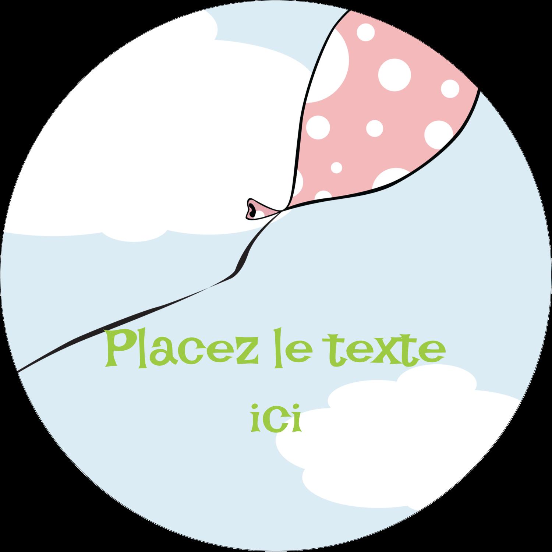 """3"""" Diameter Étiquettes rondes - Fantaisie et diplôme"""