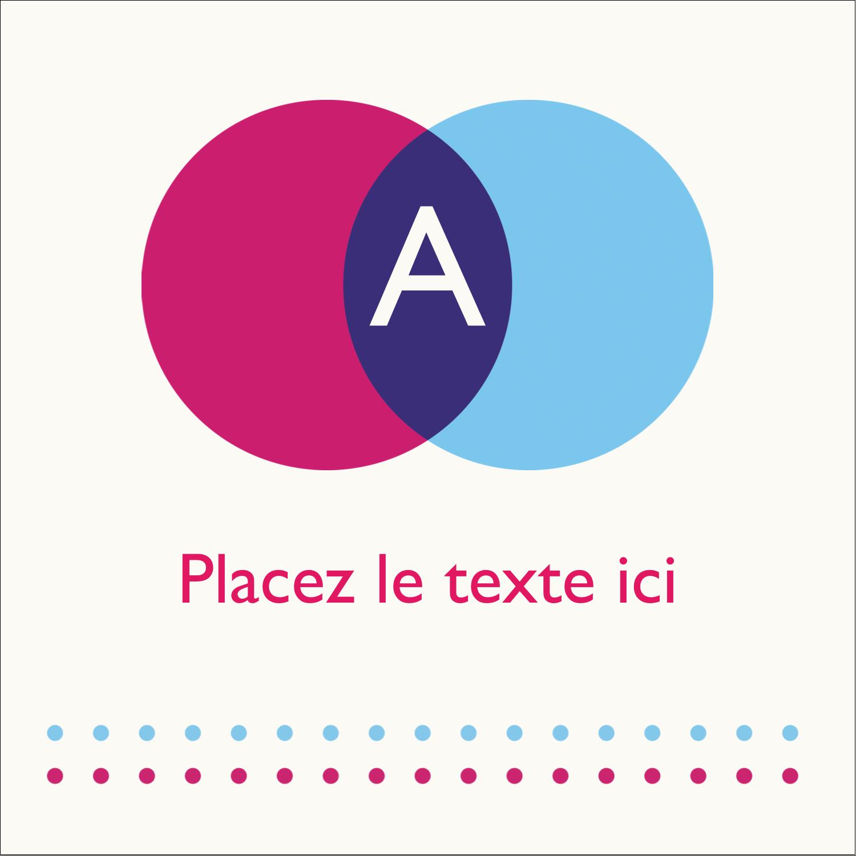 """1½"""" x 1½"""" Étiquettes carrées - Styliste"""