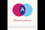 Styliste Étiquettes carrées - gabarit prédéfini. <br/>Utilisez notre logiciel Avery Design & Print Online pour personnaliser facilement la conception.