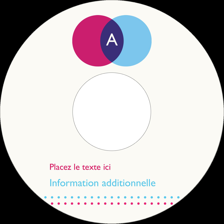 """⅔"""" x 3-7/16"""" Étiquettes de classement - Styliste"""