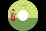 Boules de gomme Étiquettes de classement - gabarit prédéfini. <br/>Utilisez notre logiciel Avery Design & Print Online pour personnaliser facilement la conception.