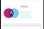Styliste Étiquettes à codage couleur - gabarit prédéfini. <br/>Utilisez notre logiciel Avery Design & Print Online pour personnaliser facilement la conception.