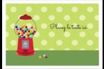 Boules de gomme Étiquettes à codage couleur - gabarit prédéfini. <br/>Utilisez notre logiciel Avery Design & Print Online pour personnaliser facilement la conception.