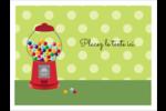 Boules de gomme Badges - gabarit prédéfini. <br/>Utilisez notre logiciel Avery Design & Print Online pour personnaliser facilement la conception.