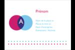 Styliste Badges - gabarit prédéfini. <br/>Utilisez notre logiciel Avery Design & Print Online pour personnaliser facilement la conception.