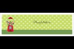 Boules de gomme Carte de note - gabarit prédéfini. <br/>Utilisez notre logiciel Avery Design & Print Online pour personnaliser facilement la conception.