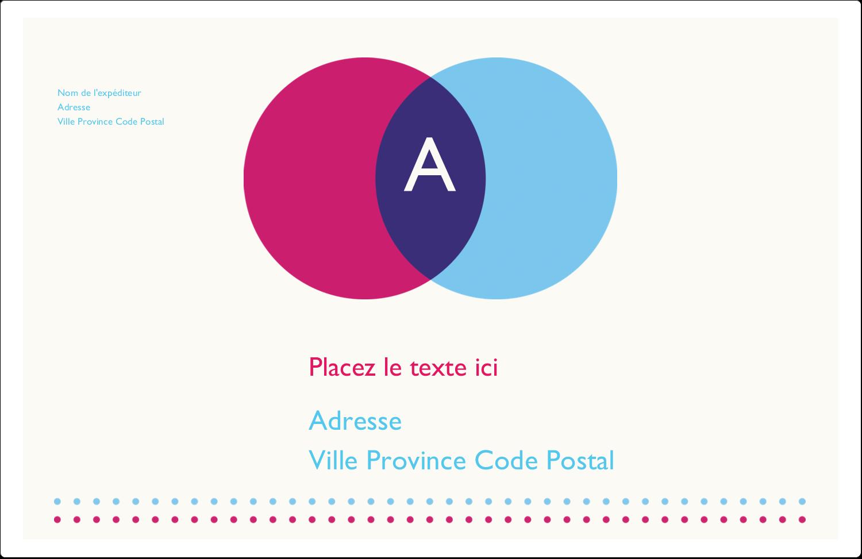 """1½"""" x 4"""" Étiquettes d'adresse - Styliste"""