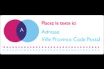 Styliste Étiquettes d'adresse - gabarit prédéfini. <br/>Utilisez notre logiciel Avery Design & Print Online pour personnaliser facilement la conception.
