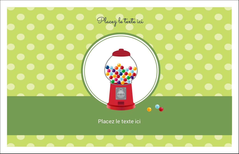 """8½"""" x 11"""" Cartes Et Articles D'Artisanat Imprimables - Boules de gomme"""