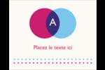 Styliste Étiquettes rondes gaufrées - gabarit prédéfini. <br/>Utilisez notre logiciel Avery Design & Print Online pour personnaliser facilement la conception.