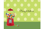 Boules de gomme Étiquettes rondes gaufrées - gabarit prédéfini. <br/>Utilisez notre logiciel Avery Design & Print Online pour personnaliser facilement la conception.