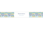 Papas du monde Étiquettes ovales - gabarit prédéfini. <br/>Utilisez notre logiciel Avery Design & Print Online pour personnaliser facilement la conception.