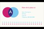 Styliste Carte d'affaire - gabarit prédéfini. <br/>Utilisez notre logiciel Avery Design & Print Online pour personnaliser facilement la conception.
